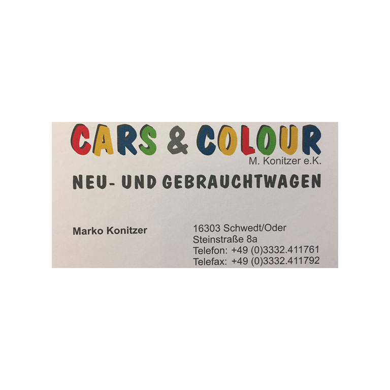 Cars und color